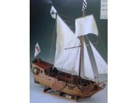 MODELLISMO NAVALE COREL YACHT D'ORO - SM27 Yacht armato brandeburghese del secolo XVII