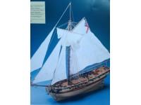 MODELLISMO NAVALE COREL HMS RESOLUTION - SM38 Cutter inglese del secolo XVIII