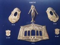 Serie completa accessori SA14 Sirene (completa di decorazioni)