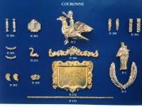 Serie completa accessori SA17 Couronne (completa di decorazioni)
