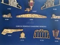 Serie completa accessori SA31 galeone veneto (completa di decorazioni)