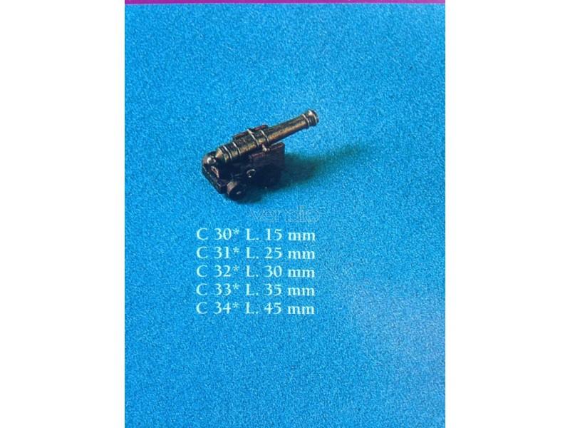 Cannone completo corel lungh.canna 15mm