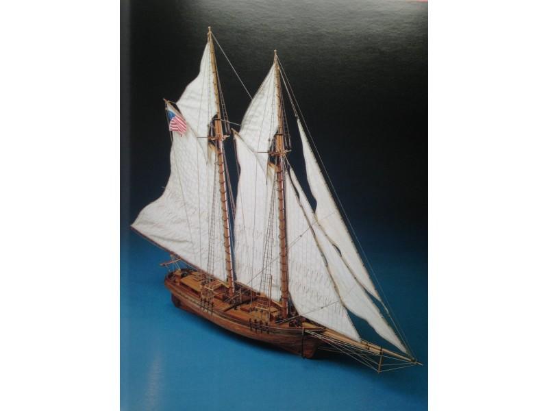 COREL SM19-FLYING FISH Goletta americana del 1860