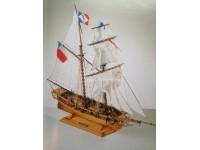 MODELLISMO NAVALE COREL TOULONNAISE - SM52 Goletta francese del 1823