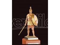 AMATI SOLDATINO FIGURINO 75MM Esercito di Alessandro il Grande 330 a.C. MINIATURA IN METALLO