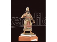 AMATI SOLDATINO FIGURINO 75MM Re Assiro Ashurnasirpal - IX Secolo MINIATURA IN METALLO