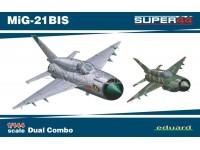 EDUARD KIT MODELLISMO AEREO MiG - 21bis DUAL COMBO