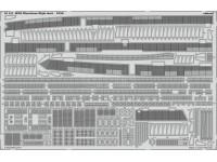 FOTOINCISIONI EDUARD PER HMS Illustrious flight deck 1:350 (Airfix)