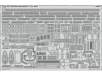 FOTOINCISIONI EDUARD PER HMS Illustrious superstructure 1:350 (Airfix)