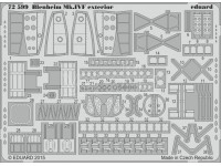 FOTOINCISIONI MODELLISMO EDUARD PER Blenheim Mk.IVF exterior (Airfix)