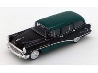TSM MODEL MODELLINO AUTO 1:43 BUICK CENTURY ESTATE WAGON BLACK & GREEN 1954
