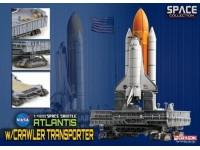 DRAGON MODELLINO 1:400 SPACE SHUTTLE ATLANTIS WITH CRAWLER TRANSPORTER