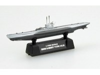 EASY MODEL MODELLINO SOTTOMARINO DKM U-BOAT GERMAN NAVY U7B 1/700