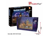 CUBICFUN MODELLINO MAGIC BOX CAPODANNO LONDRA IN PUZZLE 3D