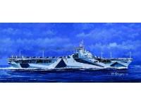 MODELLISMO TRUMPETER MODELLINO DA MONTARE NAVE USS TICONDEROGA CV-14 1/700