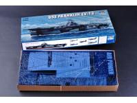 MODELLISMO TRUMPETER KIT MODELLINO NAVE USS FRANKLIN CV-13 1/700