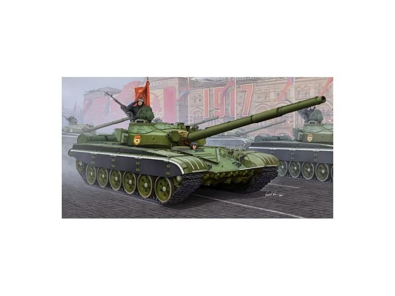 TRUMPETER MODELLINO DA  COSTRUIRE voitureRO ARMATO RUSSIAN T-72B MBT 1 35  pas cher et de la mode