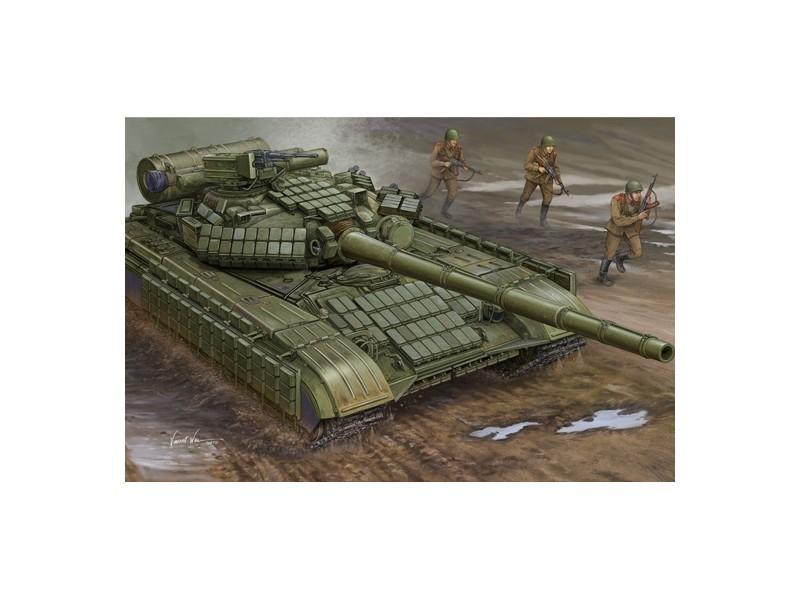 TRUMPETER MODELLINO DA COSTRUIRE CARRO ARMATO SOVIET T-64AV MOD.1984 1 35