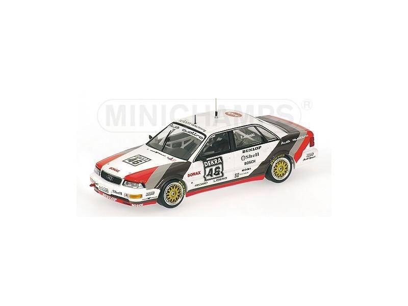 MODELLINO AUDI V8 F. JELINSKI DTM 1990 IN METALLO MINICHAMPS