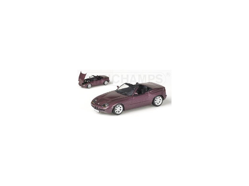 MODELLINO BMW Z1 1991 violet METALLIC IN METALLO  MINICHAMPS  magasin en ligne