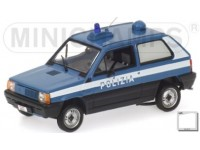 MODELLINO FIAT PANDA 1980 POLIZIA ITALIANA IN METALLO MINICHAMPS
