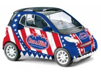 MODELLINO SMART FORTWO USA IN PLASTICA MINICHAMPS