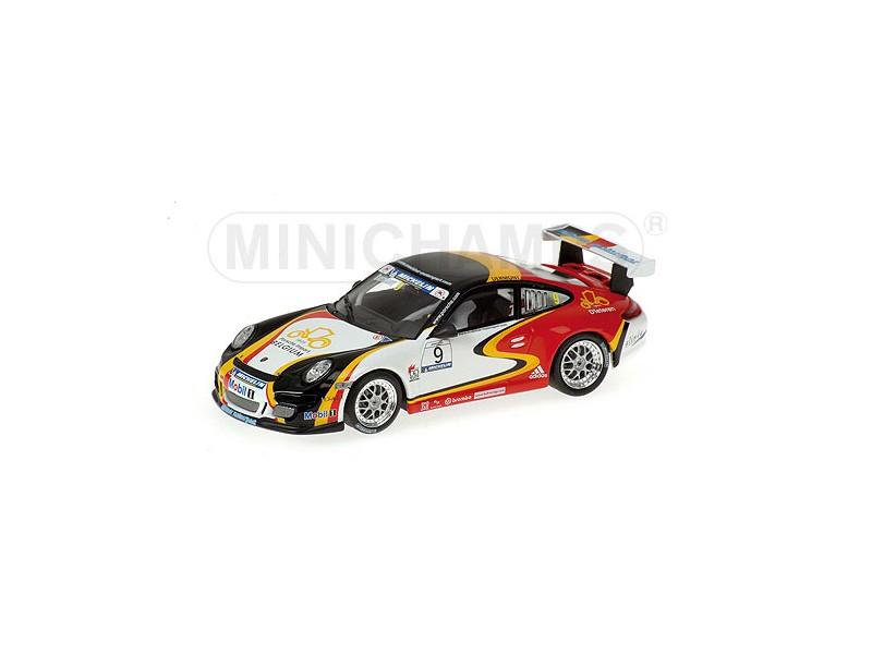 MODELLINO PORSCHE 911 GT3 D.  DERMONT SUPERCUP 2006 IN METALLO MINICHAMPS  à la mode