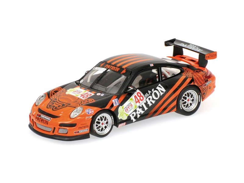 MODELLINO PORSCHE 911 GT3 C. MORGAN IMSA GT3 CHALLENGE IN METALLO MINICHAMPS