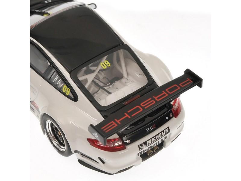 MODELLINO PORSCHE 911 GT3 RSR PROMO IN METALLO MINICHAMPS