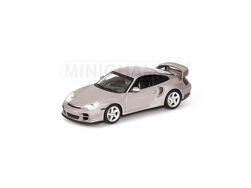 Joyeux Noël, bon shopping MODELLINO PORSCHE 911 GT2 2001 GREY METALLIC IN METALLO MINICHAMPS | D'ornement