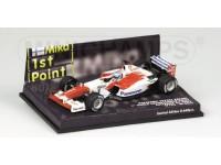 MODELLINO TOYOTA TF102 M. SALO GP AUSTRALIA 2002 IN METALLO MINICHAMPS