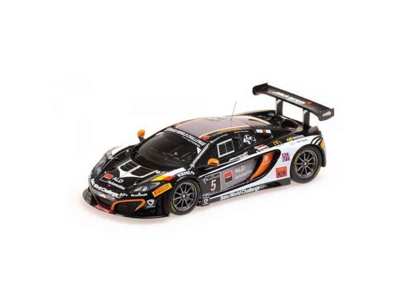 MODELLINO McLAREN MP4-12C GT3 BOUTSEN GINION RACING 24H SPA 2013 IN RESINA MINIC