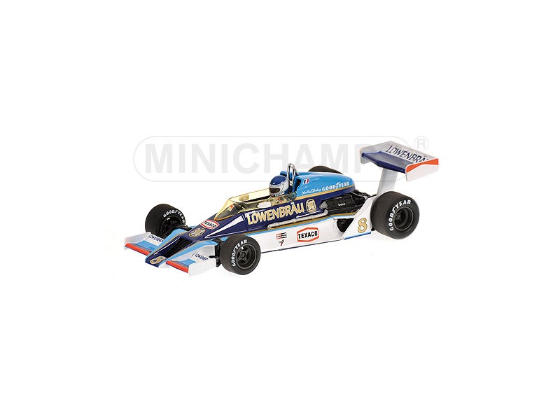 MODELLINO McLAREN FORD M26 P. TAMBAY GP USA 1978 IN METALLO MINICHAMPS