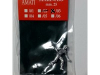 AMATI 8005/03 MARINAIO IN METALLO 25 mm PER MODELLI NAVALI DA 1/76 A 1/84