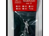 AMATI 8005/06 MARINAIO IN METALLO 25 mm PER MODELLI NAVALI DA 1/76 A 1/84