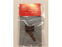AMATI ACCESSORI MODELLISMO NAVALE CANNONE DECORATO CON AFFUSTO mm 30