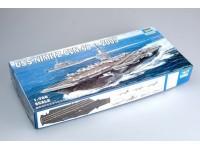 SCATOLA DI MONTAGGIO SS USS NIMITZ CVN-68 2005 TRUMPETER 1/700