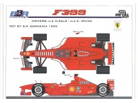 KIT FERRARI F399 GP GERMANIA 1999 BBR MODELS