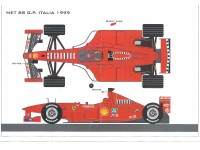 KIT FERRARI F399 GP ITALIA 1999 BBR MODELS