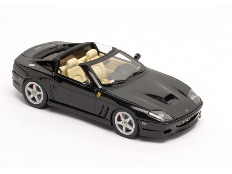 KIT FERRARI 575 SUPERAMERICA NERA 2004 BBR MODELS