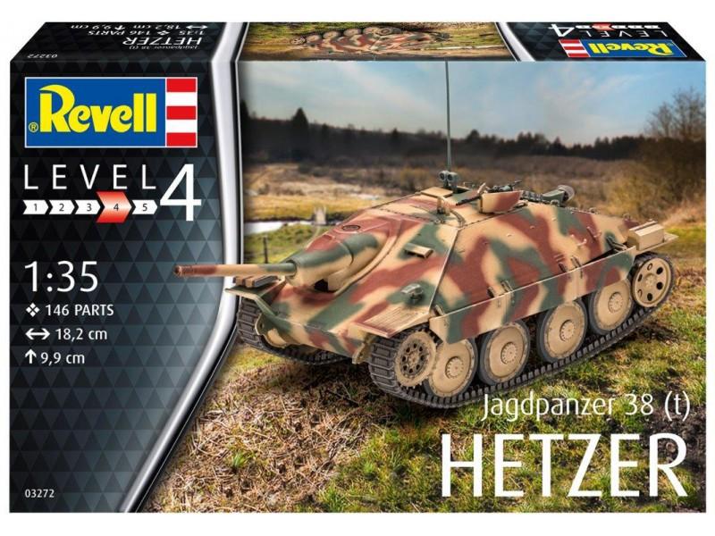 Revell 1 35 Jagdpanzer 38 (t) HETZER Modello in kit di Montaggio