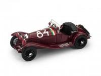 BRUMM 1/43 ALFA ROMEO 1750GS N.84 MILLE MIGLIA 1930 MODELLINO
