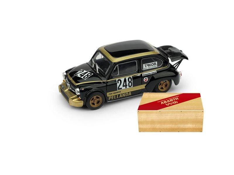BRUMM 1/43 FIAT ABARTH 1000 N.248 TRENTO BONDONE 1976 MODELLINO