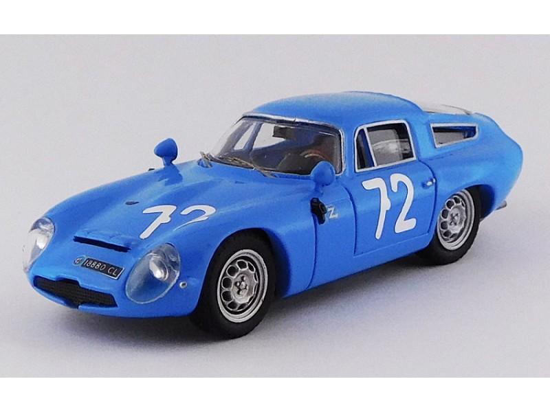 BEST MODEL 1/43 ALFA ROMEO TZ1 N.72 TARGA FLORIO 1965 MODELLINO