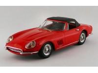 BEST MODEL 1/43 FERRARI 275 GTB/4 NART SPYDER 1967 CON CAPOTTA MODELLINO