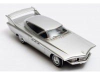 Matrix Scale Models 1/43 Chrysler Turboflite Experimental color argento 1961 modellino