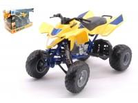 NEW RAY 1/12 ATV-QUAD SUZUKI QUADRACER R450 MODELLINO