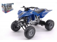 NEW RAY 1/12 ATV-QUAD YAMAHA YFZ 450 BLU MODELLINO