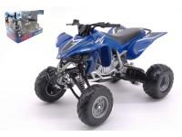 NEW RAY 1/12 ATV-QUAD YAMAHA YFZ 450 BLU MODELLINO