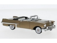 NEO SCALE MODELS 1/43 CADILLAC SERIES 62 CONVERTIBLE 1957 BROWN MODEL